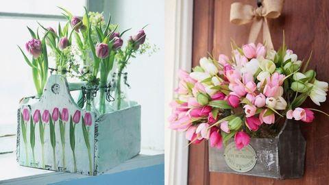 Borítsd tulipánba az otthonod! Csodaszép tulipános dekorációk
