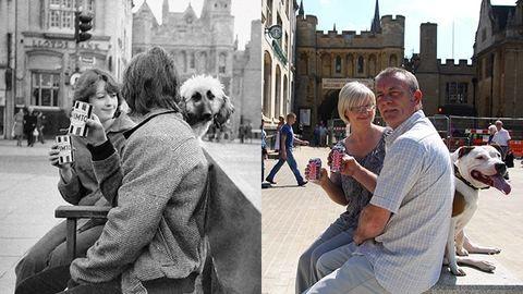 Álmában sem gondolta volna, hogy 30 év után újra találkozhat képei szereplőivel