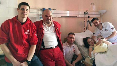 Bravúros szülést vezettek le a mentősök Budapesten