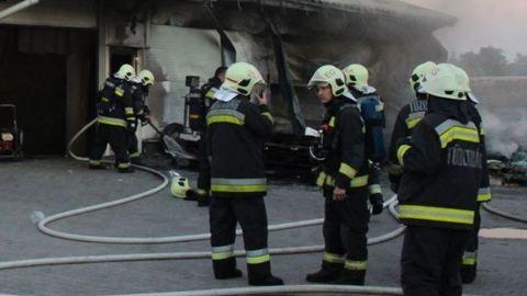 Tűzoltó testvérpár mentett életet Sárváron