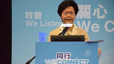 Először lett nő a hongkongi kormányzó