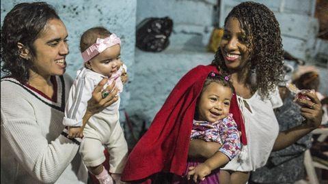Ilyen kisgyereknek lenni a riói utcazenészek világában