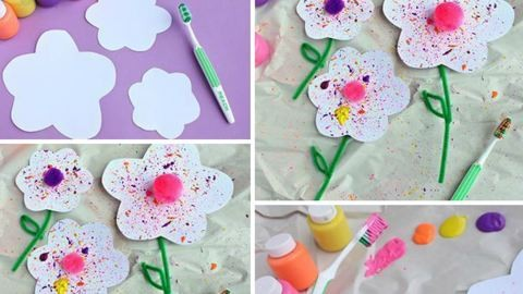 Ilyen anyák napi virágot készíts egy óvodással