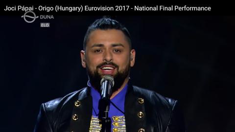 Eurovíziós Dalfesztivál 2017: Már készül Pápai Joci imázsfilmje