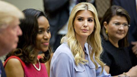 Ő Ivanka Trump, akit apuci beültetett a Fehér Házba