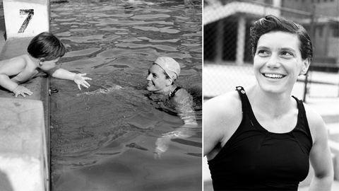 Lekevert egyet az edzőjének, majd megnyerte az olimpiát – 90 éves Székely Éva úszónő