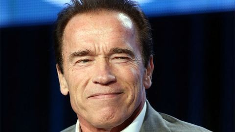 Schwarzenegger fodrásznak állt