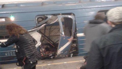 Robbanás volt a szentpétervári metróban, halottak – frissítve