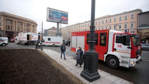 Ez történik Szentpéterváron a robbantás után – galéria