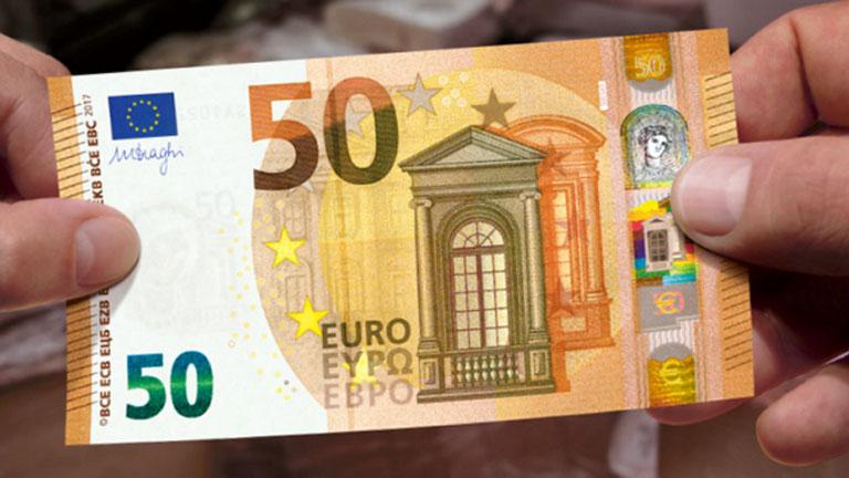 Új eurós bankjegy kerül forgalomba