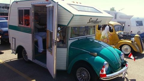 Menő lakókocsikat csinálnak régi Volkswagen Bogarakból