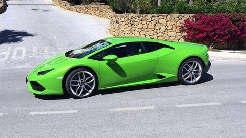 300 km/h felett törte össze a Lamborghinit az M7-esen