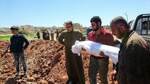 Vegyi fegyverrel öltek gyerekeket Szíriában