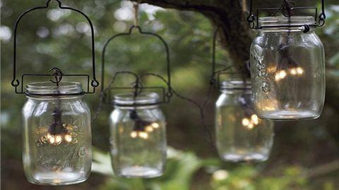 DIY befőttesüveg-lámpások