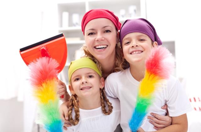 Így vonhatod be a gyerekeket a nagytakarításba