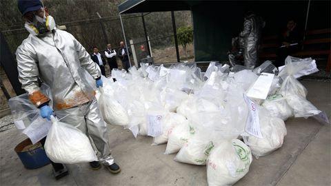 Valaki elhagyott egy tonna kokaint