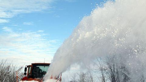 Esik a hó a Hargitán