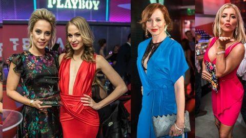 Ónodi Eszter szexi csipkében, Nagy Alexa óriási dekoltázsa – sztárparádé a Playboy-gálán