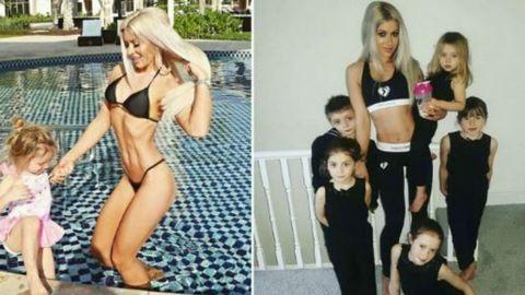 Senki sem akarja elhinni ennek az anyukának, hogy öt gyermeket szült