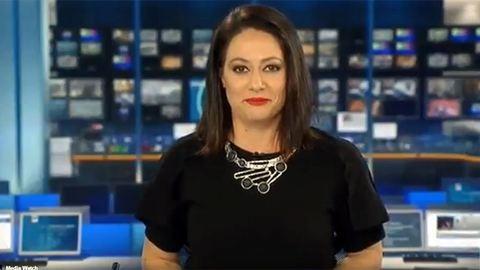 Megőrül az internet az őszintén meglepődő híradósért – videó
