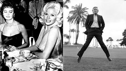 Jayne Mansfield mellbimbója és Trump nagy ugrása: így születtek a világ leghíresebb képei