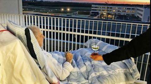 Cigarettát és bort kért a haldokló beteg – az ápolók teljesítették kívánságát