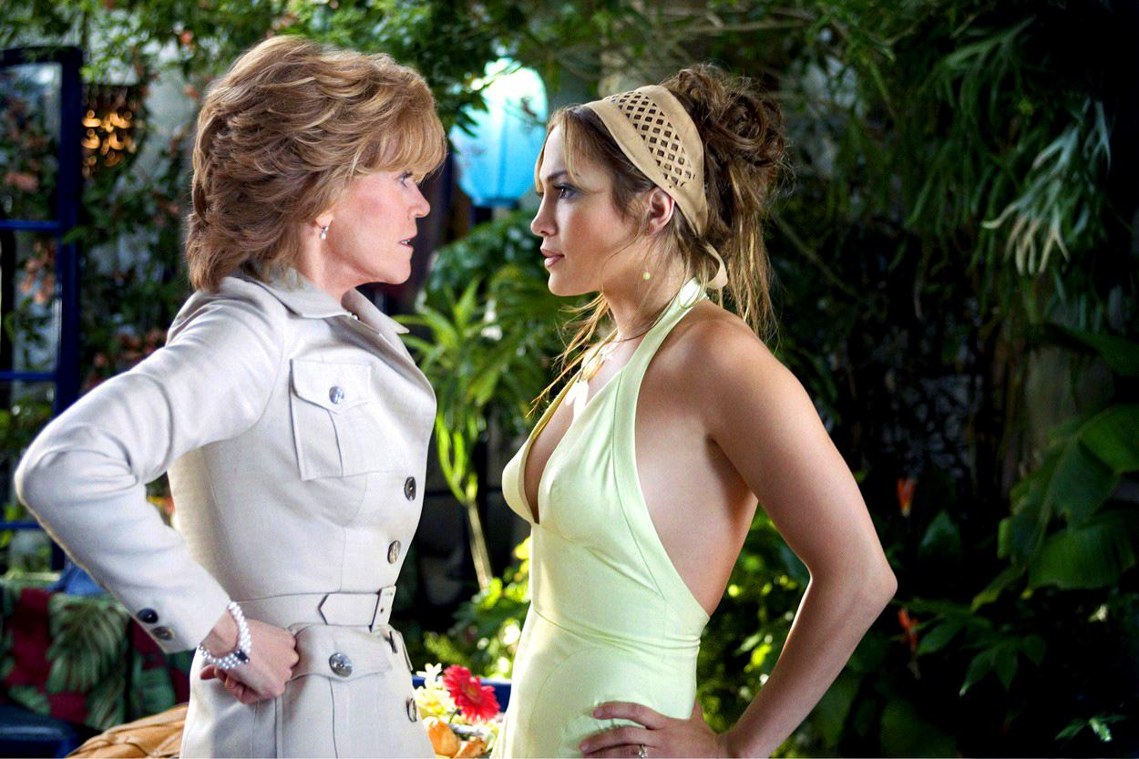 Jane Fonda és Jennifer Lopez az Anyád napja c. filmben