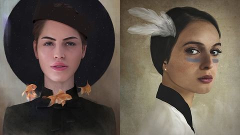 A magyar digitális festő alkotásaiért rajong most a háló