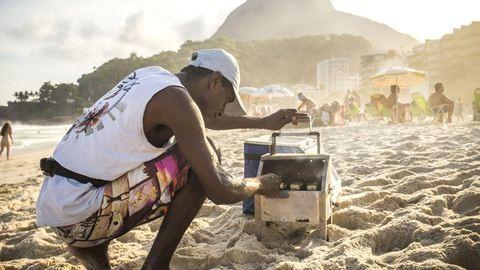 Copacabana: nagy riói strandkörkép