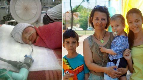 """""""Hol a pici miatt volt lelkiismeret-furdalásom, hol a két nagy miatt otthon"""" - Kórházi lét háromgyermekes anyaként"""