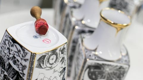 Ismét trendi a hollóházi porcelán
