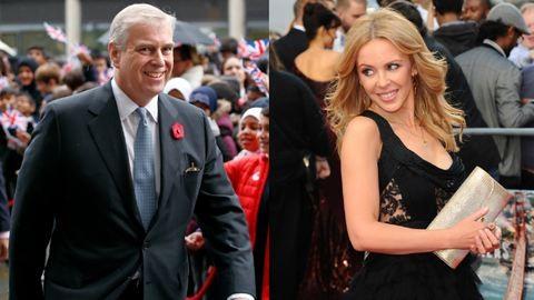 Kylie Minogue II. Erzsébet fiával kavar