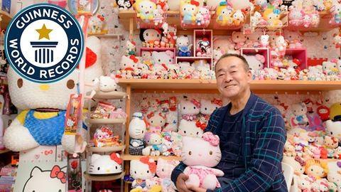 A világ legnagyobb Hello Kitty-gyűjteménye egy idős japán férfié