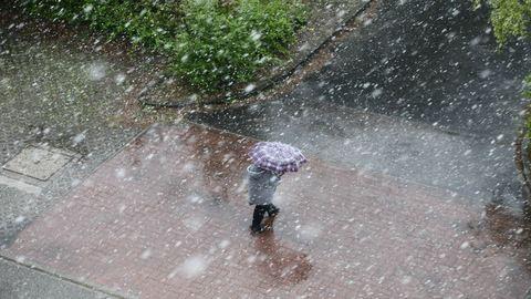 Nézd meg az áprilisi hóesést! – fotók