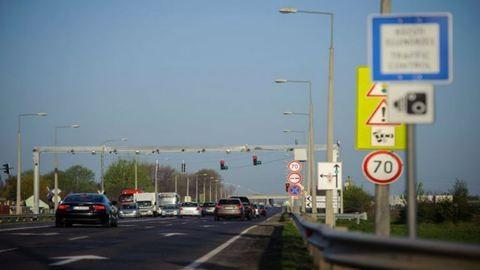 Felfüggesztették a sebesség-ellenőrzési akciót