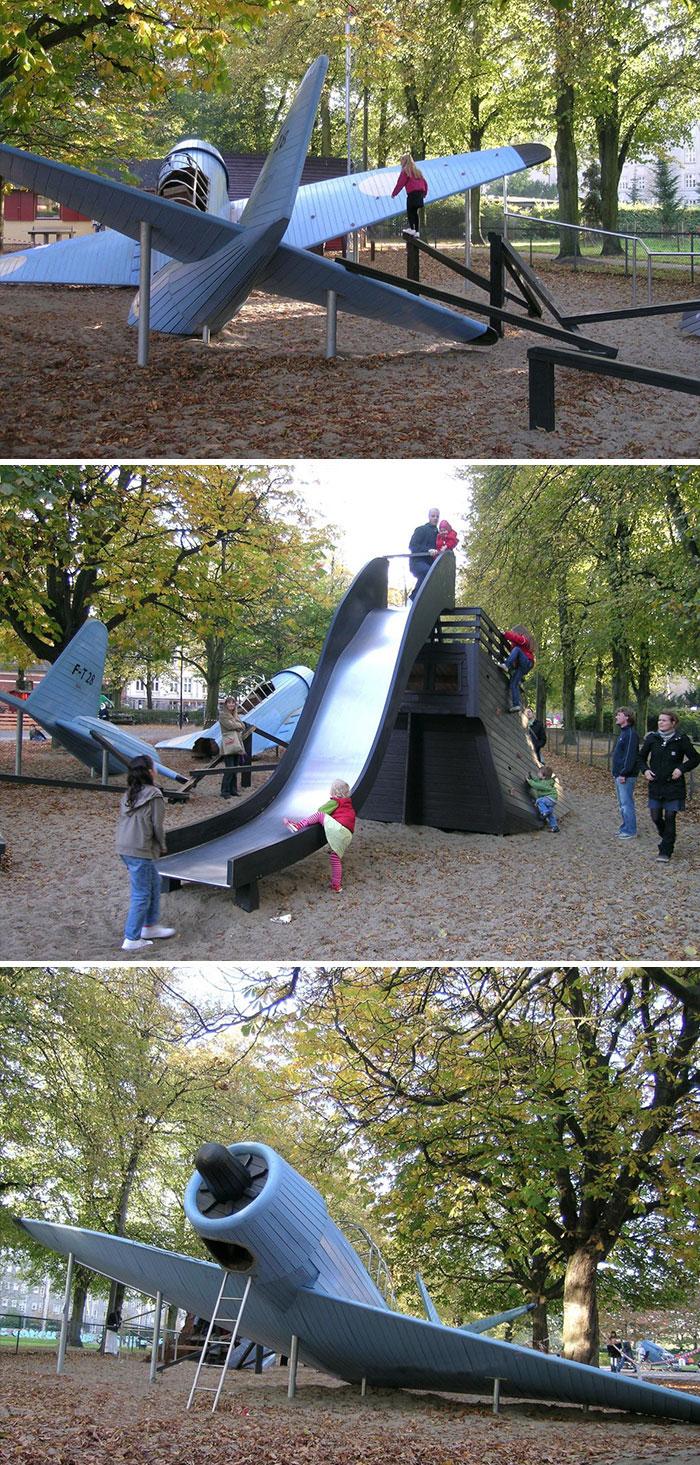 Újra gyerekek lennénk a világ legmenőbb játszóterei miatt
