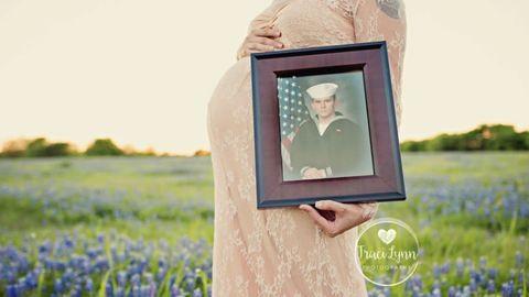 Álomszép képek készültek a leendő szülőkről, pedig az apa ott sem volt a fotózáson