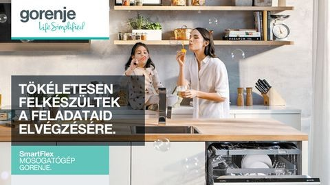 A mosogatógép, amely tökéletesen felkészült a feladataid elvégzésére