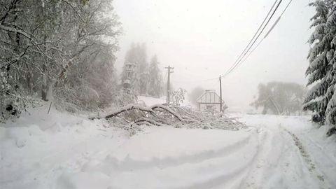Áprilisi tél: Nyolc település továbbra is elérhetetlen