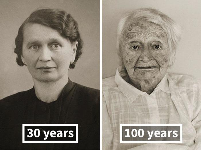 Akkor és most: elképesztő fotók mutatják meg, hogy öregedtek 100 évessé az egykori fiatalok