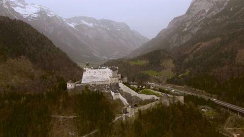 Bámulatos drónvideó mutatja be a legszebb kastélyokat