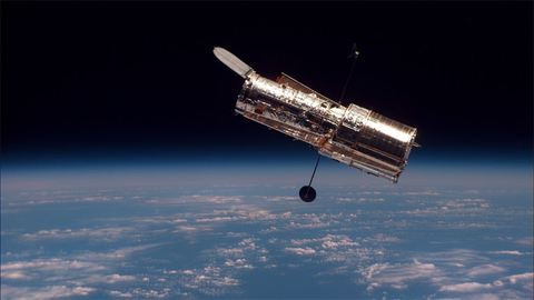 27 éves a Hubble-űrteleszkóp: nézd meg a legszebb űrfotóit!