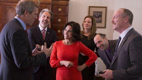 8 Selina Meyer-idézet Az alelnök sorozatból, ami megmutatja, hogy mi történhet igazából a politikában
