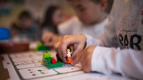 Legózva tanulnak a borsodi iskolások