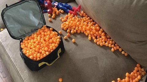 Ez történik, ha egy 3 éves magának pakolja be az ebédjét