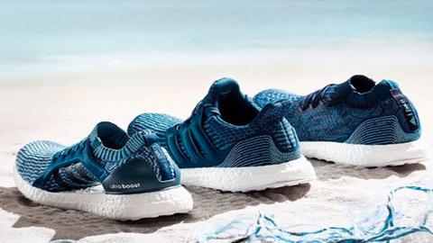 Óceáni hulladékból készített cipőket az Adidas