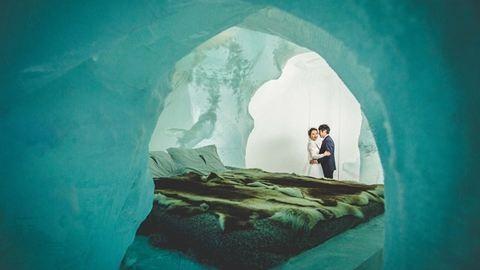 Álomesküvő jéghotelben: ahol nem fagy meg a szerelem