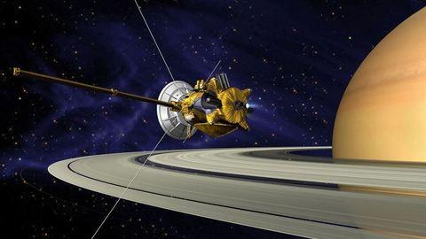 Élőben nézhetitek, amint a Cassini űrszonda áthalad a Szaturnusz gyűrűjén