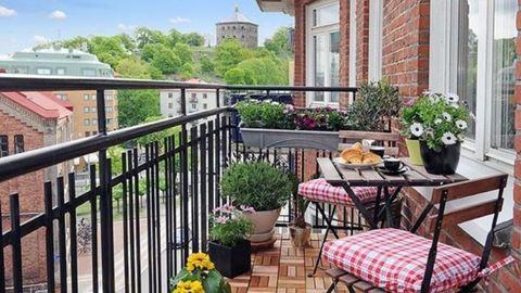 Így használd ki az erkélyedet tavasszal!