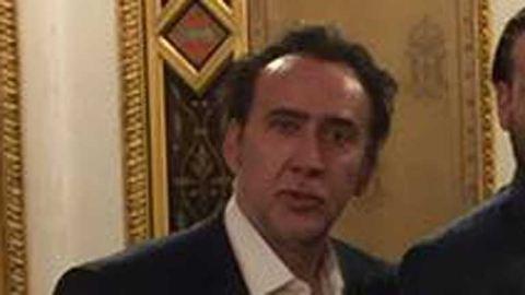 Balesetet szenvedett Nicolas Cage